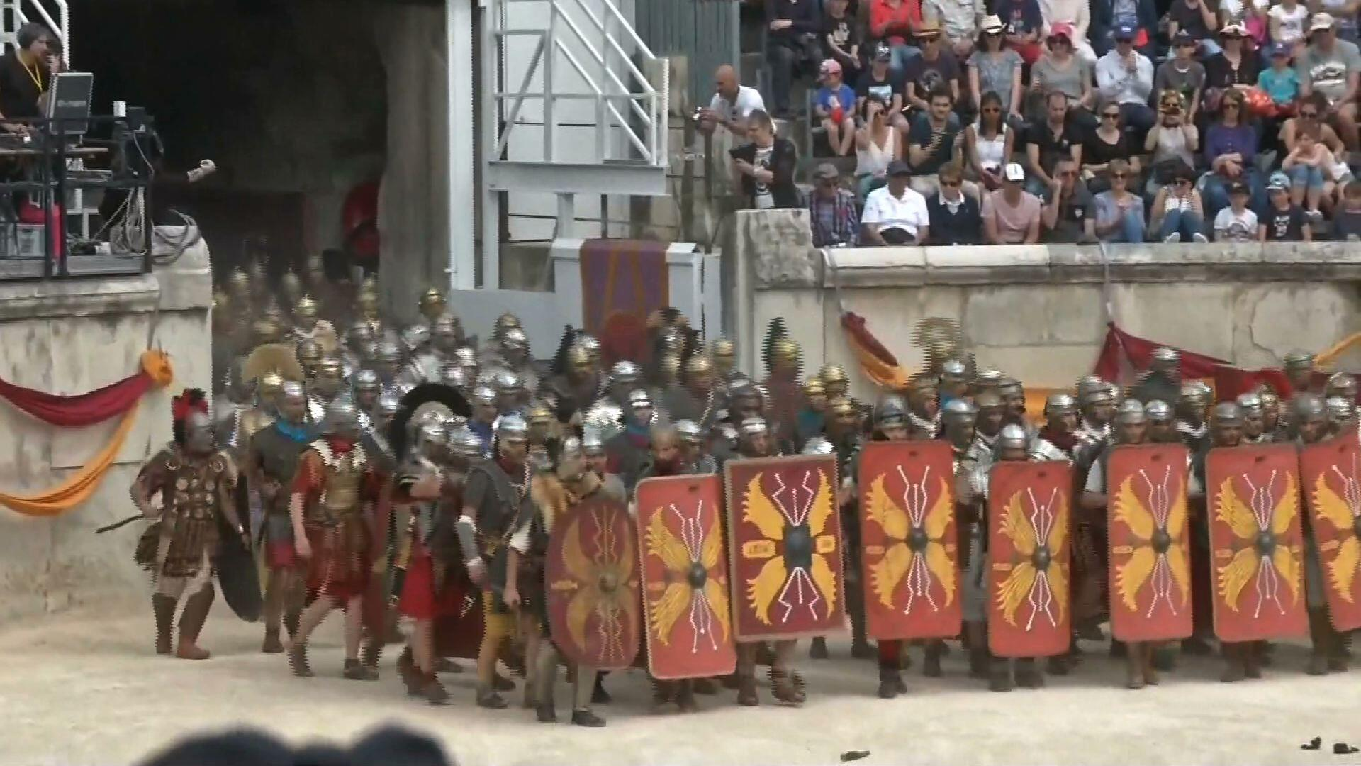 9996321d Gladiatorzy starli się we Francji | Wideo w TVN24 BiS