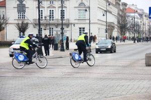 Policjanci odstawili Veturilo za pijanych rowerzystów