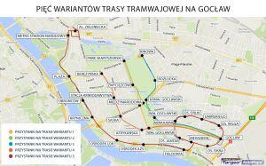 Którędy pojedzie tramwaj na Gocław?