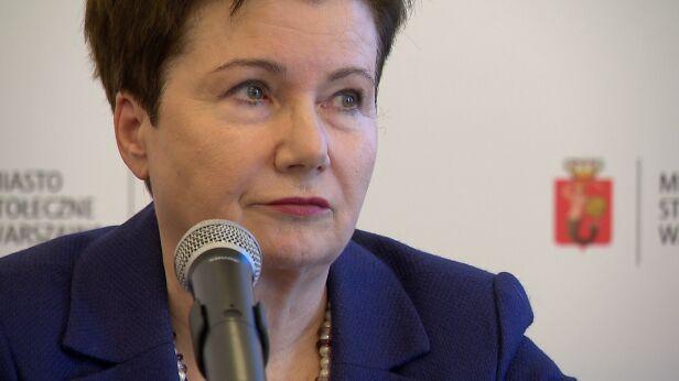 Hanna Gronkiewicz-Waltz archiwum TVN