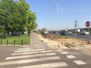 Ścieżka rowerowa na Podzamczu przechodzi remont