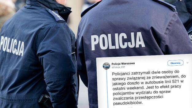 Policja zatrzymała podejrzanych o rasistowski atak w autobusie