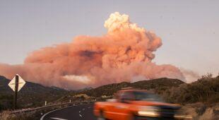 Pożar w Kalifornii (PAP/EPA)