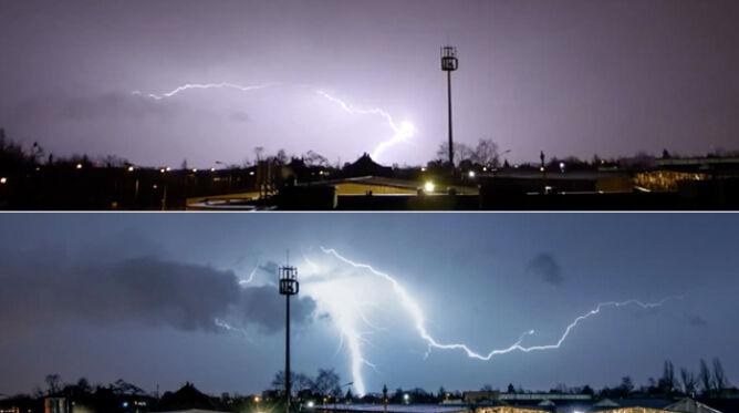 Listopadowa burza w Poznaniu. Błyskało się jak latem