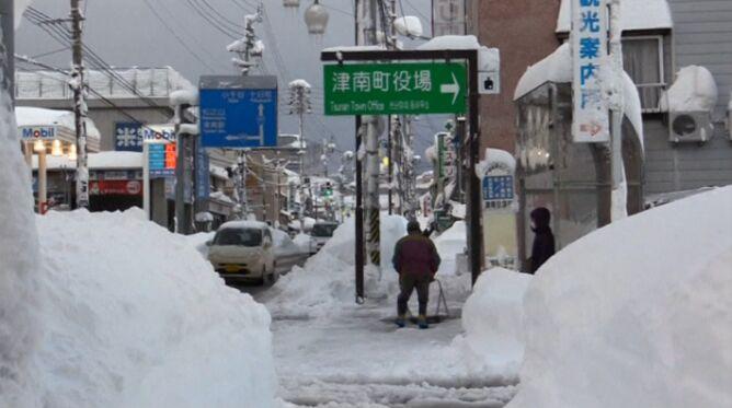 Śmiertelne śnieżyce w Japonii. Trzy osoby nie żyją