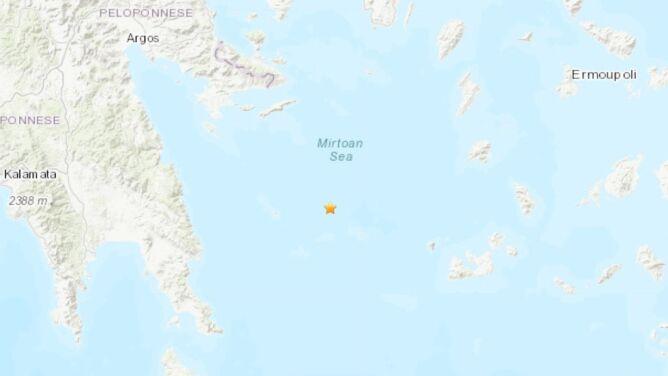 Trzęsienie ziemi w Grecji. Wstrząsy odczuwalne były w Atenach
