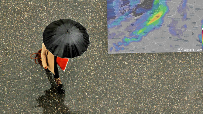 Pogoda na 5 dni: przed nami sporo deszczowych dni