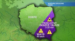 Warunki drogowe w środę 27.05