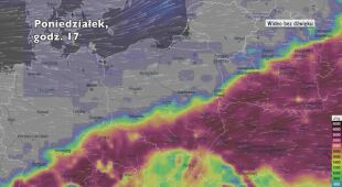 Potencjalne burze w ciągu kolejnych dni (Ventusky.com)
