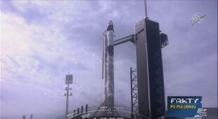 SpaceX wystrzeliła rakietę Falcon-9
